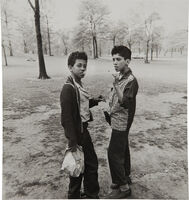 Diane Arbus, 'Two boys smoking in Central Park, N.Y.C.', 1963