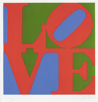 Robert Indiana, 'Classic Love', 1996