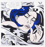 """Roy Lichtenstein, '""""Drowning Girl"""", 1963'"""