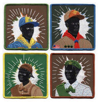 Kerry James Marshall, 'SCOUT SERIES SET OF 4', 2017