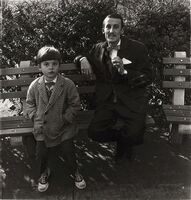 Diane Arbus, 'Man and a boy on a bench in Central Park, N.Y.C', 1962