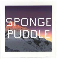 Ed Ruscha, 'Sponge Puddle', 2015