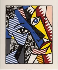 Head, from Expressionists Woodcuts