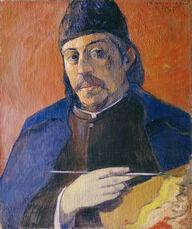 Autoportrait à la palette (Self-Portrait with Palette)