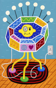 Rodney Alan Greenblat, 'Lemon Eye Galactic Device', 2019