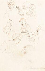 Thomas Stothard, 'Sheet of Studies'