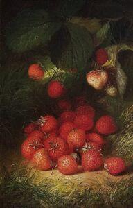 Robert Spear Dunning, 'Fresh Strawberries', 1877