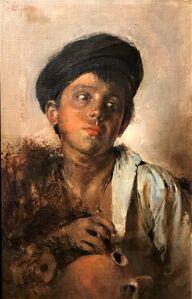 Gaetano Esposito, 'Portrait of a boy', ca. 1880