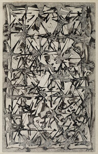Brion Gysin, 'Peggy's Window on the Grand Canal', 1962