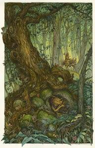 David Wenzel, 'Goblin Tree', 2017