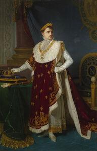 Michel-Martin Drolling, 'Official Portrait of Emperor Napoléon I ', 1808