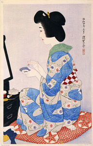 Itō Shinsui, 'The First Collection of Modern Beauties: Rouge', 1929