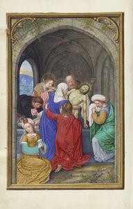 Simon Bening, 'The Entombment', 1525-1530