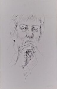 Barbara Swan, 'Self-Portrait', 1972