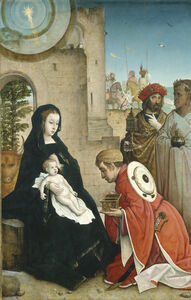 Juan de Flandes, 'The Adoration of the Magi', ca. 1508/1519
