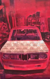 Tom Dash, 'Red Ghost', 2015