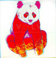 Andy Warhol, ' Giant Panda (FS II.295)', 1983