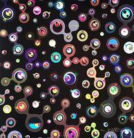 Takashi Murakami, 'Jellyfish Eyes - Black 5', 2004