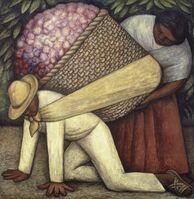 Diego Rivera, 'The Flower Carrier', 1935