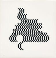 Bridget Riley, 'Untitled (Fragment 2)', 1965