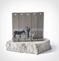 Banksy, 'Walled Off Hotel - Five Part Souvenir Wall Section (Donkey Documents)'