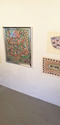 """Anne Brown and John Tweddle: """"Outsider Artworks from 60s-70s"""", installation view"""