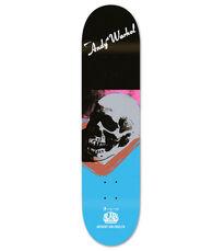 Andy Warhol Skull Skateboard Deck (Warhol skate art)