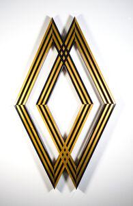 Tavar Zawacki aka ABOVE, 'DIAMOND INTERSECT (GOLD)', 2018