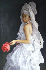 Zeng Chuanxing, 'White Paper Bride', 2019