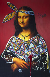 Domingo Zapata, 'Mona Lisa Indian', 2013