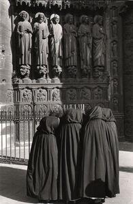 Marc Riboud, 'Nuns in front of Notre-Dame, Paris', 1953