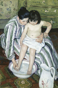 Mary Cassatt, 'The Child's Bath', 1893