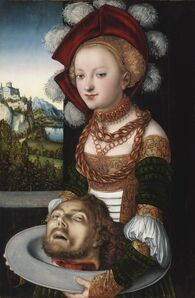 Lucas Cranach the Elder, ' Salome with the head of John the Baptist', 1526-1530