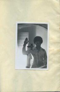 Beverly Buchanan, 'Untitled (Self-Portrait in Mirror)', 1977