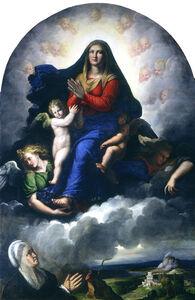 Girolamo da Carpi, 'The Apparition of the Virgin', 1530/1540