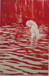 Dieter Mammel, 'Lady in the Lake / Heiligensee', 2015
