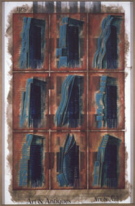 Melvin Charney, 'One size fits all / 4: From J.L Durand to Manhattan Skyscraper Culture', 2002