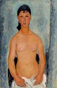 Amedeo Modigliani, 'Weiblicher Akt, stehend (Elvira) (Female Nude, Standing [Elvira])', 1918