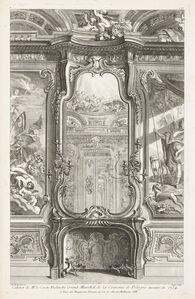 Juste-Aurèle Meissonnier, 'Cabinet de Mr. le Comte Bielenski Grand Marechal de la Couronne de Pologne', 1742-1748
