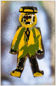 Hans Krüsi, 'Untitled (Yellow Man in Hat)', n.d.