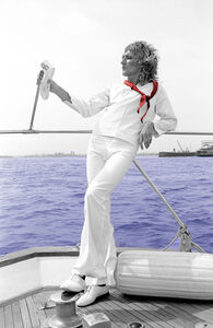 Richard E. Aaron, 'Rod Stewart - On a Boat on Hahnemuhle paper', 2000-2009
