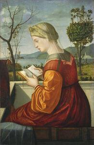 Vittore Carpaccio, 'The Virgin Reading', ca. 1505