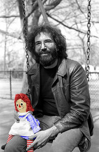 Richard E. Aaron, 'Jerry Garcia - 1975 Colorized Raggedy Ann on Hahnemuhle Paper', 1975
