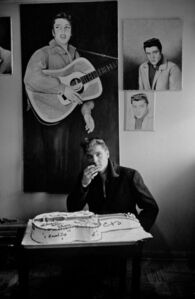 Henri Dauman, 'Elvis Presley's 25th Birthday, Graceland, TN, 1960'