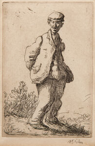Augustus Edwin John, 'The Idiot, alternatively titled The Imbecile', 1902-03