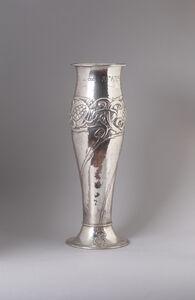OMAR RAMSDEN & ALWYN C E CARR, 'Pomegranate vase', 1899