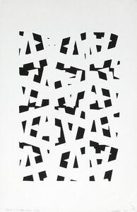 Clemente Padín, '1 Poemas visuales (Instalación de 6 obras) Edición 1984', 1984