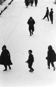 Kiichi Asano, 'Tokamachi, Japan, Children in Snow, February 1957', 1957-printed posthumously 2003