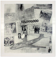 Robert Rauschenberg, 'Features from Currents #63', 1970