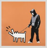 Banksy, 'Choose your weapon (Dark Orange)', 2010